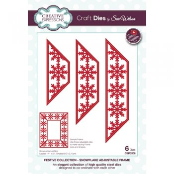 "Creative Expressions "" Snowflake Frame CED3208"""