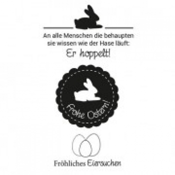 "Efco Clear Stamp Set A7 ""Ostern 2"""