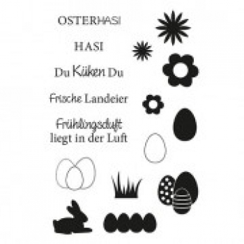 "Efco Clear Stamp Set A7 ""Ostern 3"""