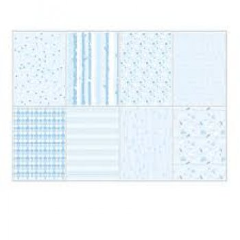 "Joycrafts Papierblock "" 6011/0581 Light Blue Design"""