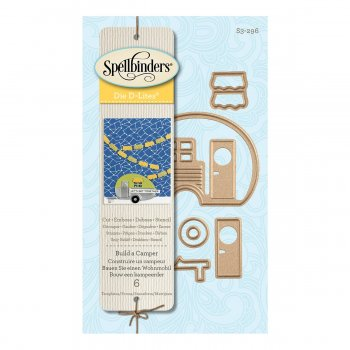 "Spellbinders "" Build a Camper S3-296"""