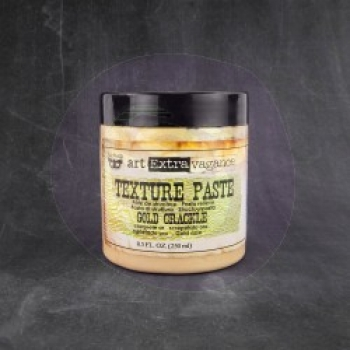 Prima Marketing Texture Paste Gold Crackle