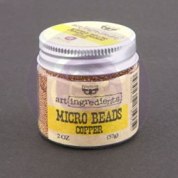 Prima Marketing Micro Beads - Copper