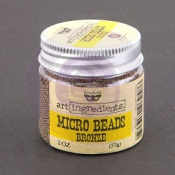 Prima Marketing Micro Beads - Bronce