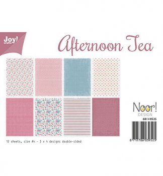 "Joycrafts Papierblock "" 6011/0535 Afternoon Tea"""