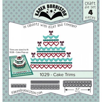 "Karen Burniston "" 1029 Cake Trims"""