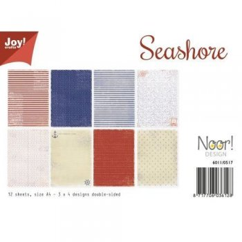 "Joycrafts Papierblock "" 6011/0517 SEASHORE"""