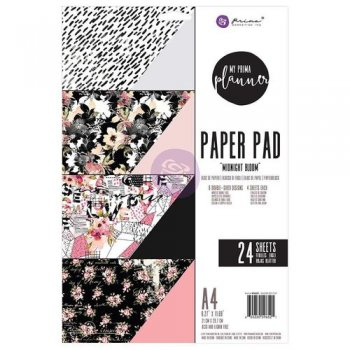 "Prima Marketing  Paper Pad "" Midnight Bloom "" 596521"