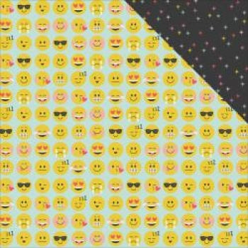 Design-Papier 8003 EMOJI LOVE
