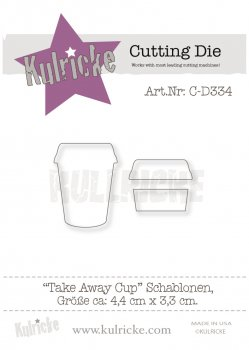 "Kulricke  Stanze "" Take away Cup"""